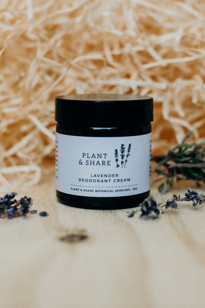 Natural Deodorant Creams @ Plant & Share