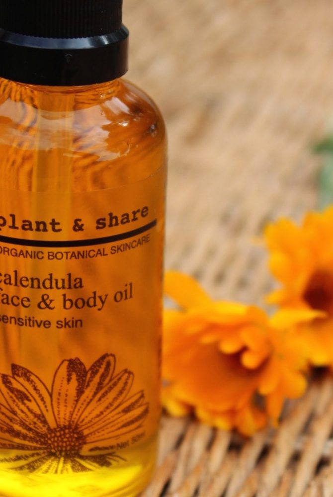 CALENDULA FACE & BODY OIL