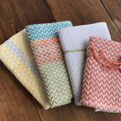 ORGANIC COTTON FACE CLOTH – COLOURED