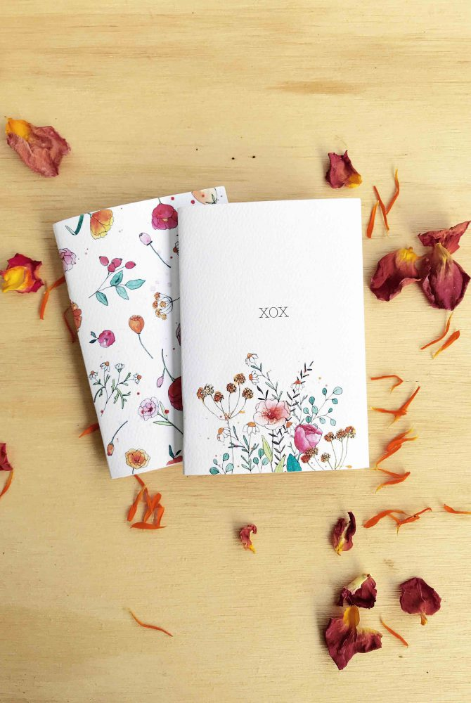 CLOUDS OF COLOUR MINI NOTE BOOKS