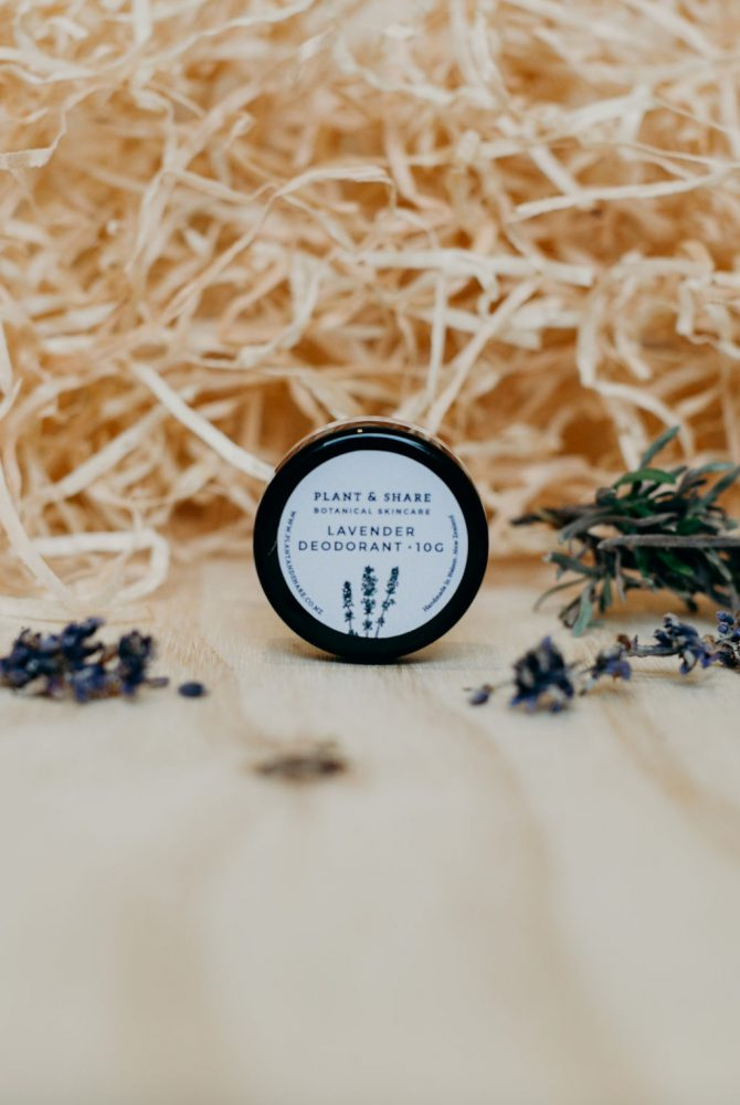 Lavender Deodorant Sample Pot - Natural Deodrants Range