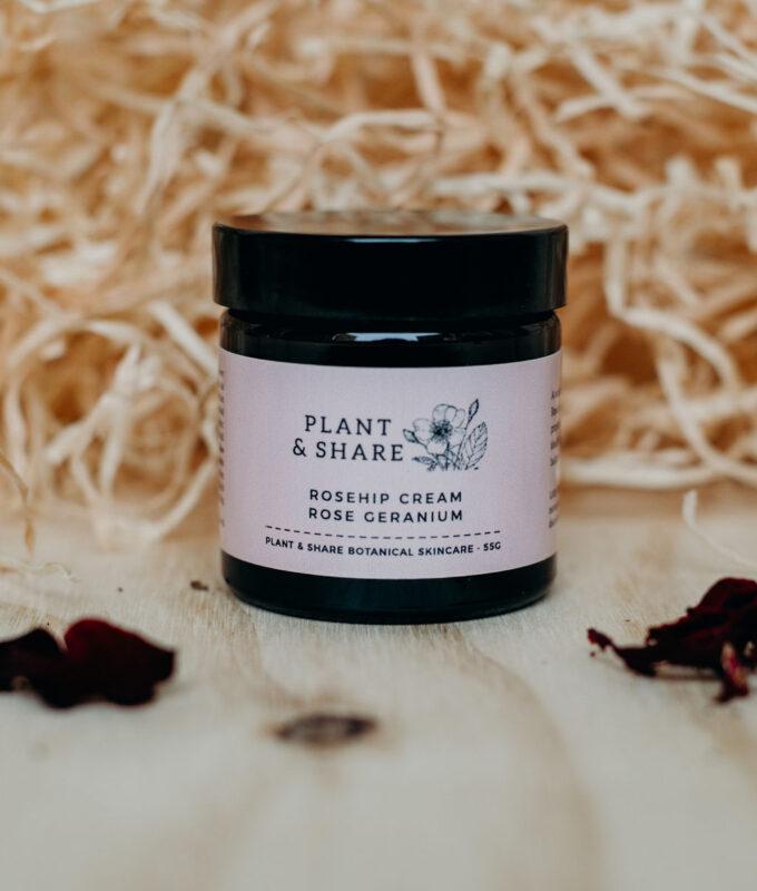 Rosehip organic moisturising creams