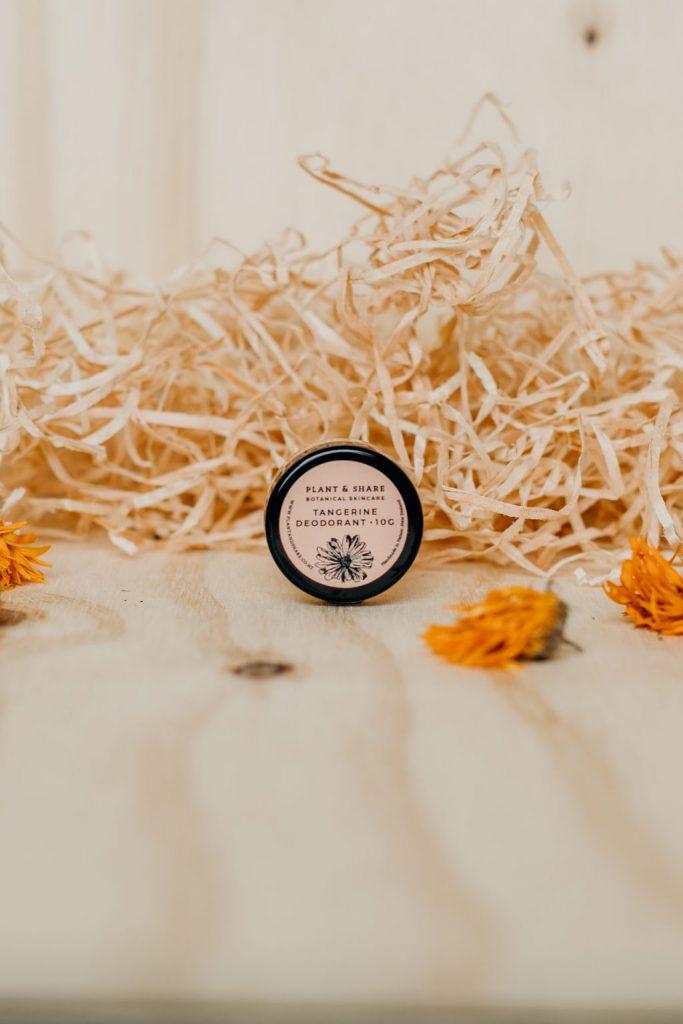 Plant & Share Natural Deodorants - sample pots