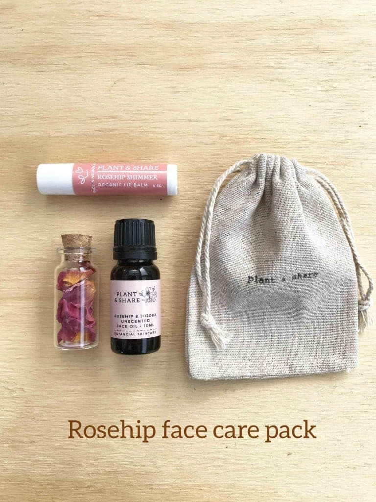 pick n mix rosehip face care pack