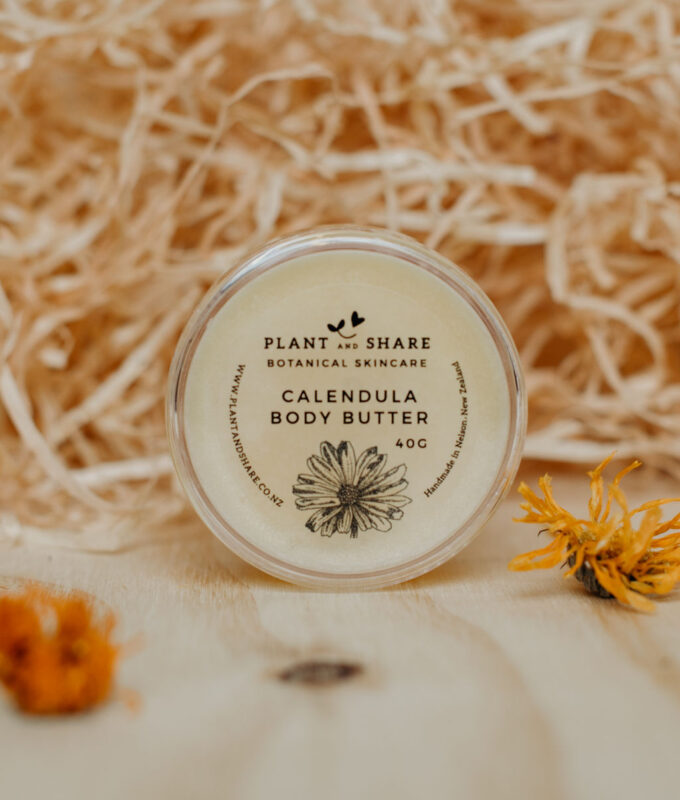 calendula body butter