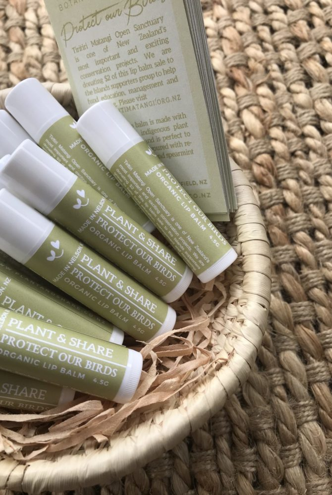 PROTECT OUR BIRDS LIP BALM TUBE