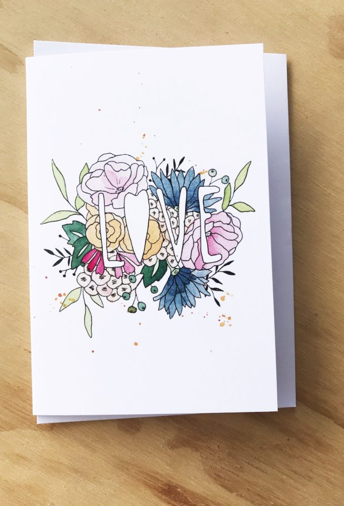 clouds of colour gift card