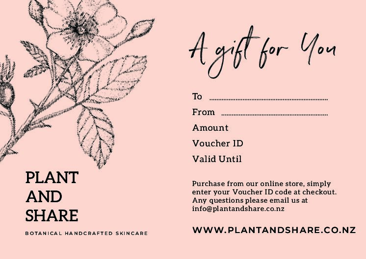 PLANT AND SHARE GIFT VOUCHER